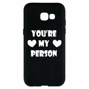 Etui na Samsung A5 2017 You're my person