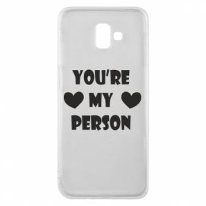 Etui na Samsung J6 Plus 2018 You're my person