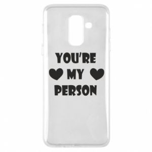 Etui na Samsung A6+ 2018 You're my person