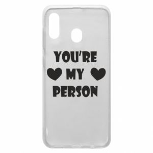 Etui na Samsung A30 You're my person
