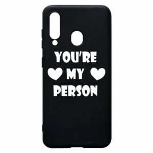 Etui na Samsung A60 You're my person