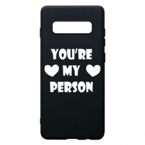 Etui na Samsung S10+ You're my person