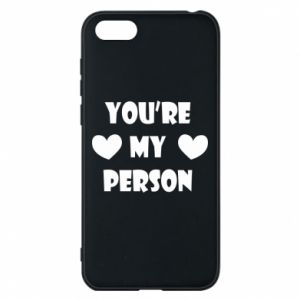 Etui na Huawei Y5 2018 You're my person