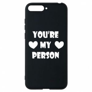 Etui na Huawei Y6 2018 You're my person