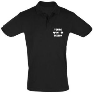 Men's Polo shirt You're my person