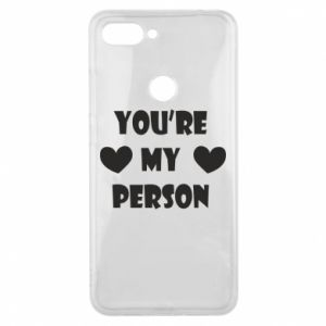 Etui na Xiaomi Mi8 Lite You're my person