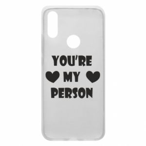Phone case for Xiaomi Redmi 7 You're my person
