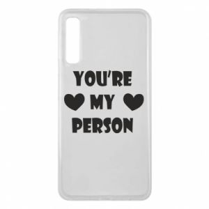 Etui na Samsung A7 2018 You're my person