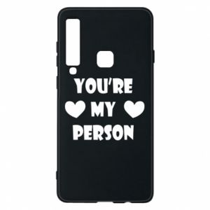 Etui na Samsung A9 2018 You're my person