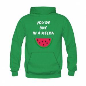 Bluza z kapturem dziecięca You're one in a melon