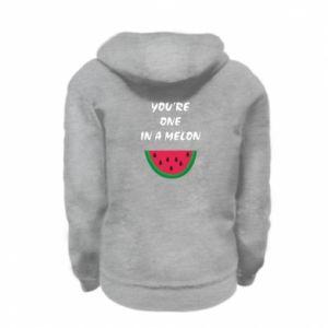 Bluza na zamek dziecięca You're one in a melon