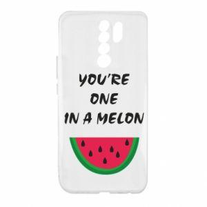 Etui na Xiaomi Redmi 9 You're one in a melon