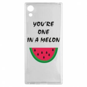 Etui na Sony Xperia XA1 You're one in a melon