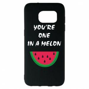 Etui na Samsung S7 EDGE You're one in a melon