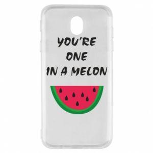 Etui na Samsung J7 2017 You're one in a melon