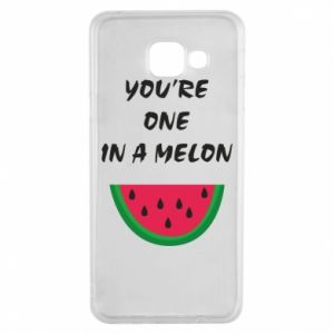 Etui na Samsung A3 2016 You're one in a melon