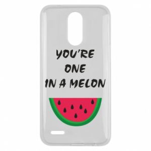 Etui na Lg K10 2017 You're one in a melon