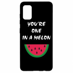 Etui na Samsung A41 You're one in a melon