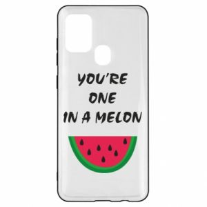 Etui na Samsung A21s You're one in a melon