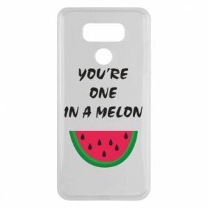 Etui na LG G6 You're one in a melon