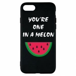 Etui na iPhone SE 2020 You're one in a melon