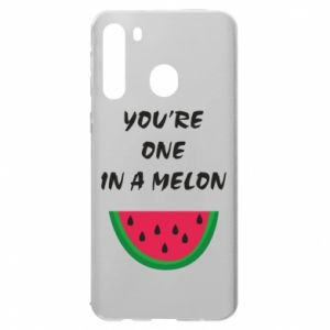 Etui na Samsung A21 You're one in a melon