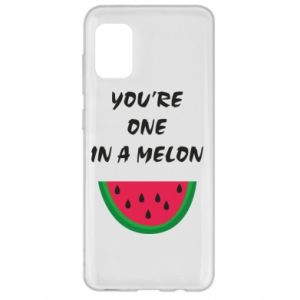 Etui na Samsung A31 You're one in a melon