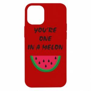 Etui na iPhone 12 Mini You're one in a melon