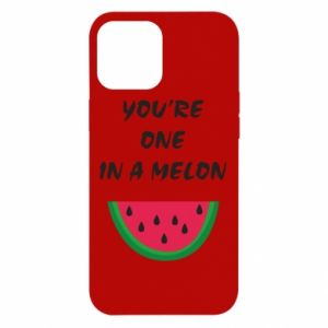Etui na iPhone 12 Pro Max You're one in a melon