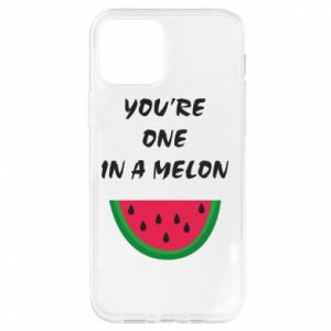 Etui na iPhone 12/12 Pro You're one in a melon