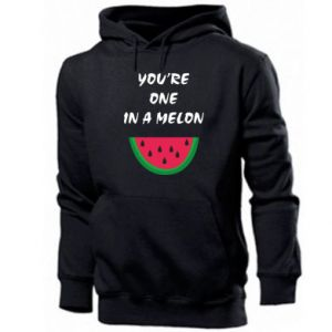 Men's hoodie You're one in a melon