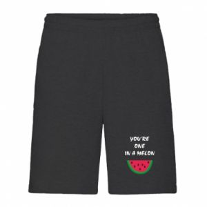 Men's shorts You're one in a melon