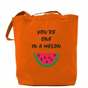Bag You're one in a melon