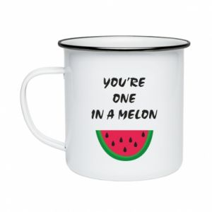 Enameled mug You're one in a melon