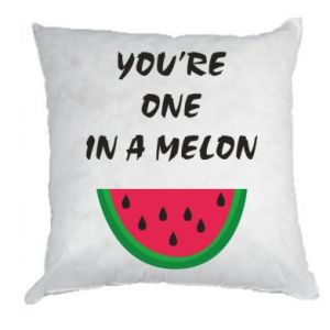 Pillow You're one in a melon