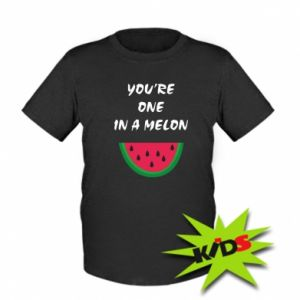 Kids T-shirt You're one in a melon
