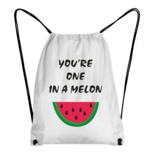 Backpack-bag You're one in a melon