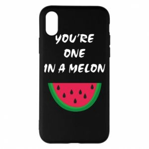 Phone case for iPhone X/Xs You're one in a melon