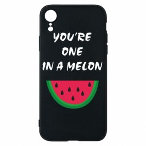 Phone case for iPhone XR You're one in a melon
