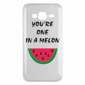 Phone case for Samsung J3 2016 You're one in a melon
