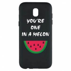 Phone case for Samsung J5 2017 You're one in a melon