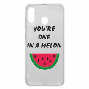 Phone case for Samsung A30 You're one in a melon