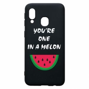 Phone case for Samsung A40 You're one in a melon