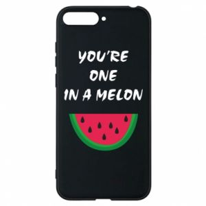 Phone case for Huawei Y6 2018 You're one in a melon