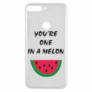 Phone case for Huawei Y7 Prime 2018 You're one in a melon