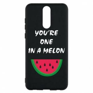 Phone case for Huawei Mate 10 Lite You're one in a melon