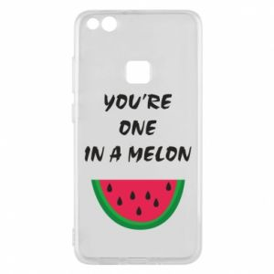 Phone case for Huawei P10 Lite You're one in a melon