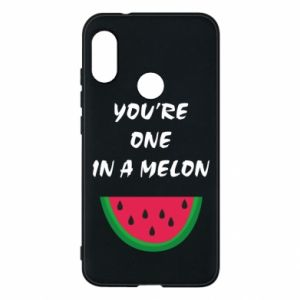 Phone case for Mi A2 Lite You're one in a melon