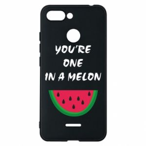 Phone case for Xiaomi Redmi 6 You're one in a melon