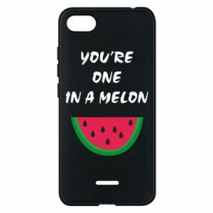 Phone case for Xiaomi Redmi 6A You're one in a melon